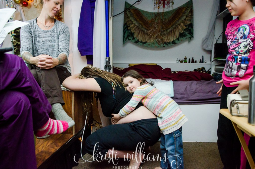 homebirth with siblings