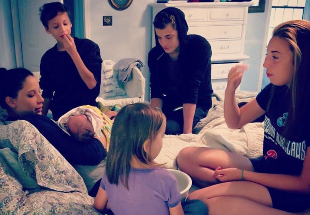 homebirth with older kids